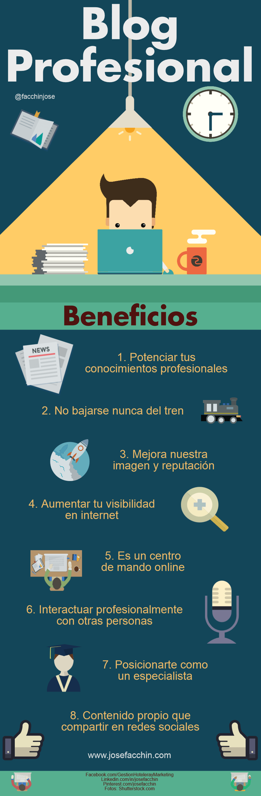8 Beneficios que obtendremos de un Blog Profesional
