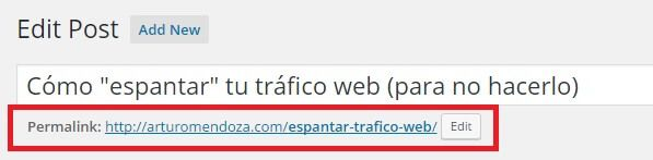 Optimización SEO de tus posts